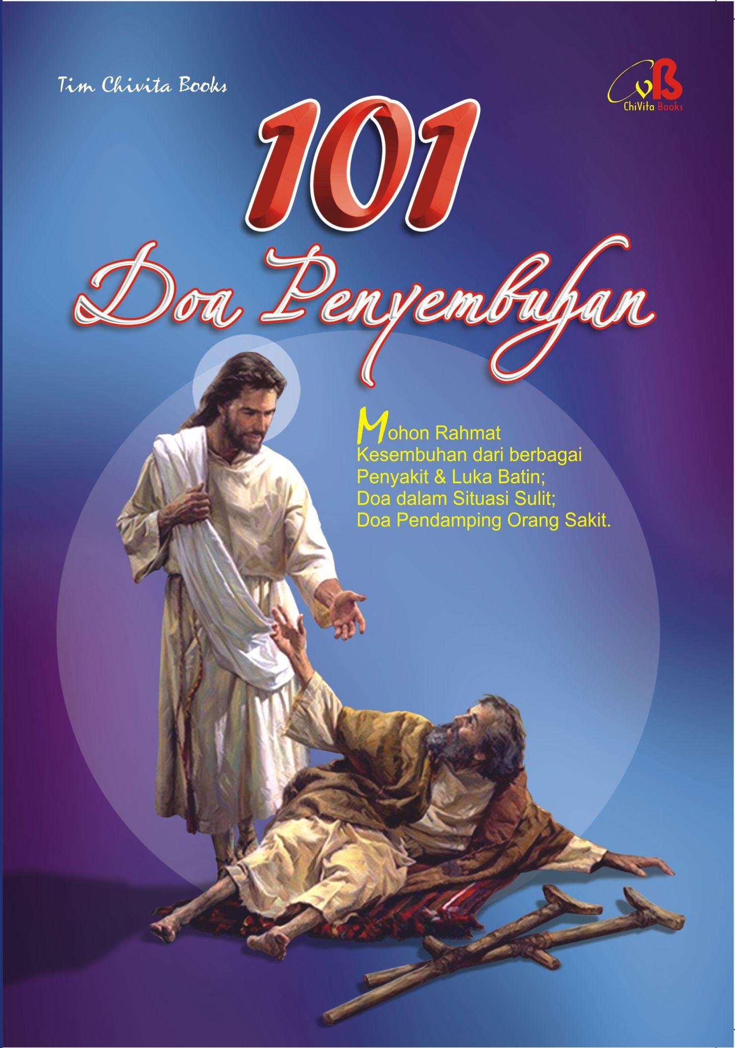 buku doa rohani katolik7 - untuk souvenir - 101 Doa Penyembuhan