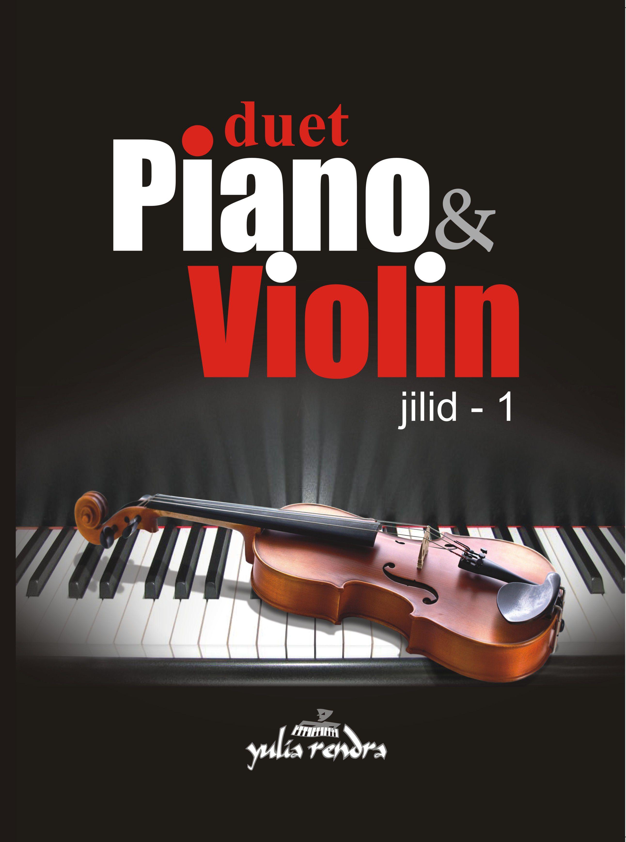 Distributor buku musik piano - Duet PIANO & VIOLIN