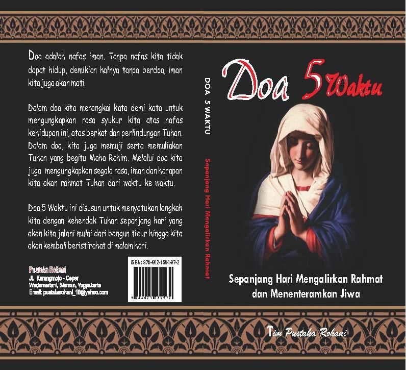 Souvenir Doa 5 Waktu - Buku doa TIAP hari SEPANJANG MASA